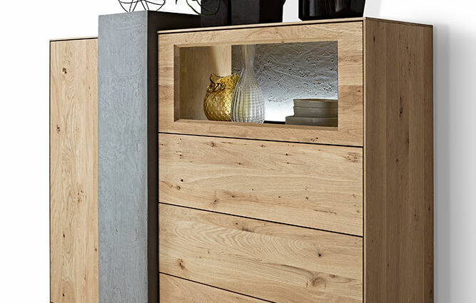 Highboard 6181 – Hartmann solid wood furniture